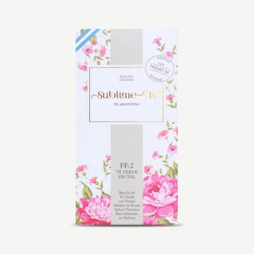 FF:2 Rose and Peach Green Tea Limited Edition 50 grams